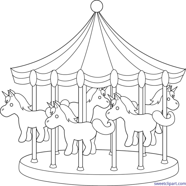 Amusement clipart black and white. All clip art archives