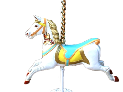 Carousel clipart pole. Png dlpng horse with