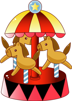 Carousel clipart pole. Free cliparts download clip