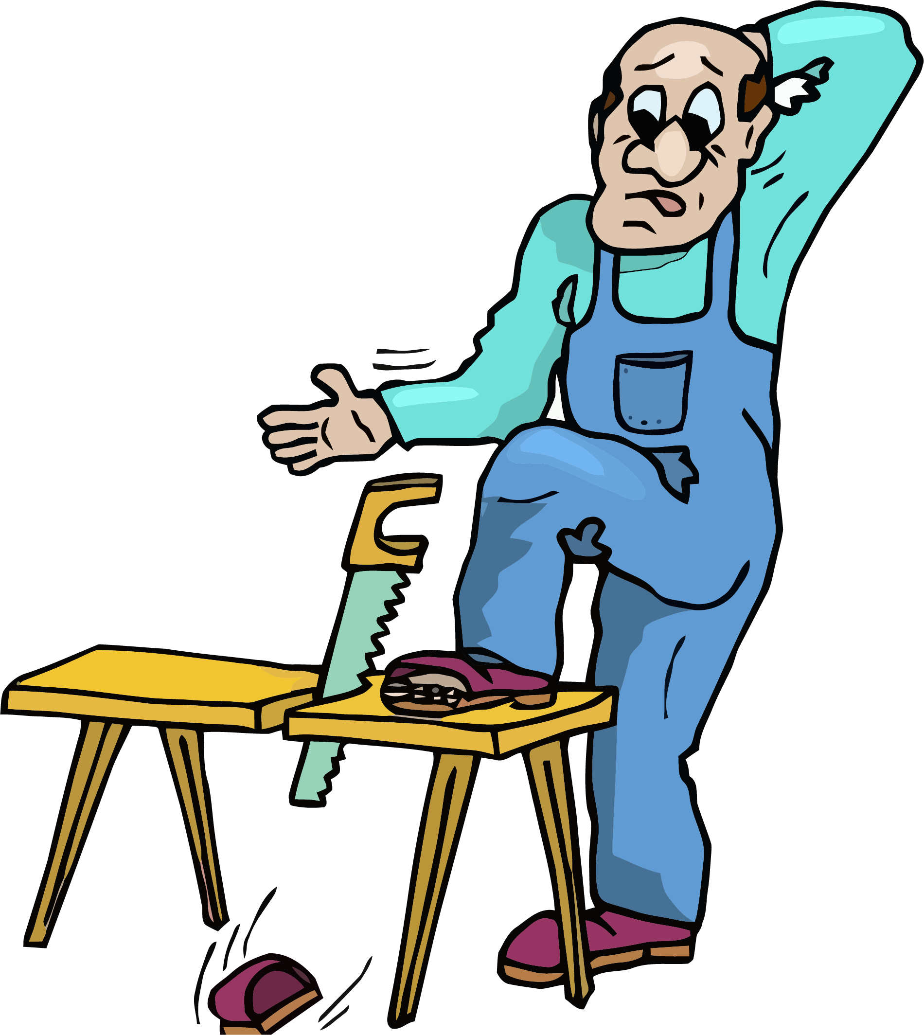 carpenter drawing clip art