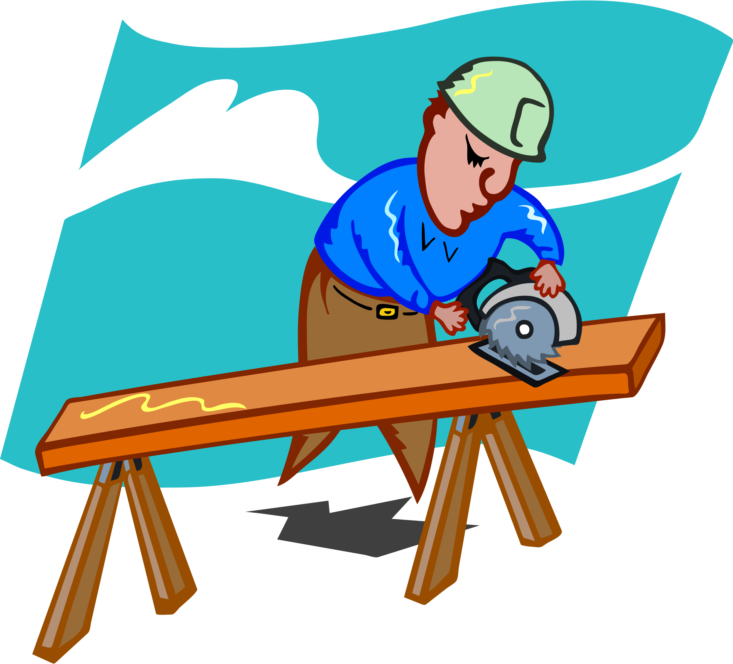 clip art freeuse. Woman clipart carpenter vector royalty free stock