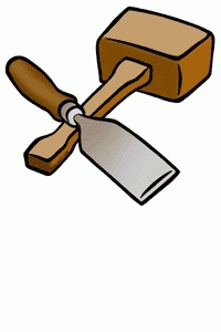 Carpentry clipart carpenter tool. Tools letters collection within