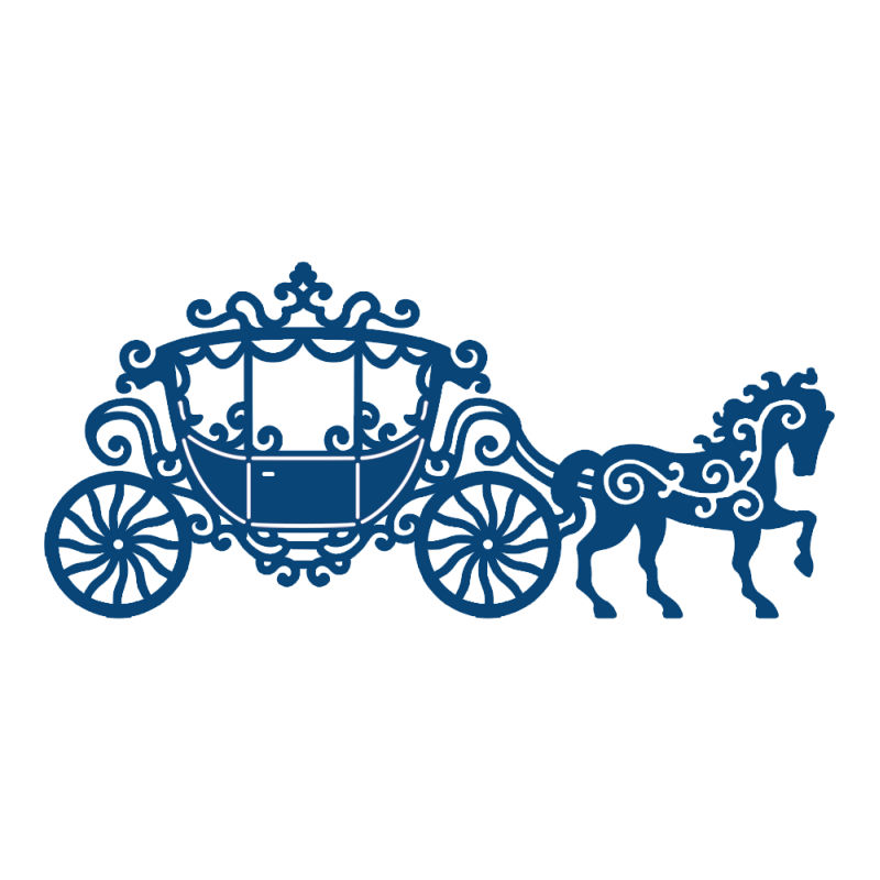 Carriage clipart cinderella theme. Silhouette at getdrawings com