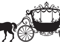 Wagon vector horse cart. Carriage clipart free download