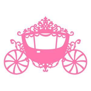 Carriage clipart princess ring. Svg file cameo silhouette