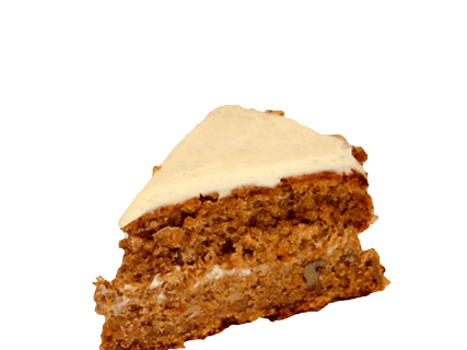 Carrot cake png. Slice organic foods and