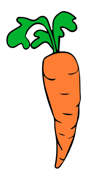 Carrots clipart edible root. Carrot free
