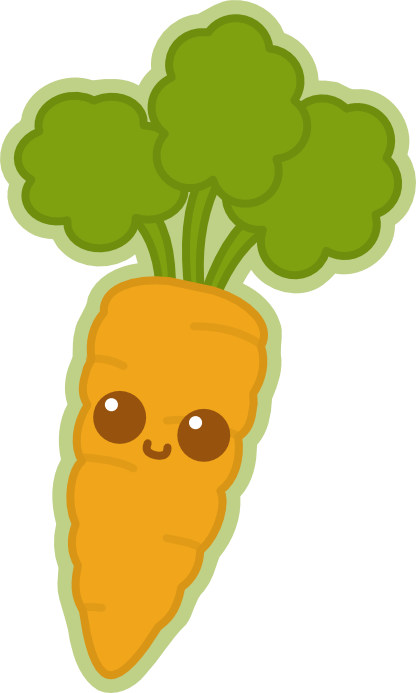 Carrot vector png. Dd kawaii by amis