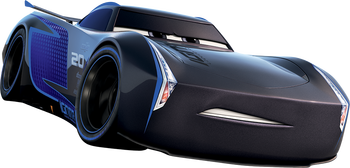Cars 3 jackson storm png. Journey of the vees