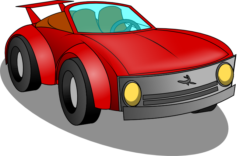 Cars clip clipart. Image of sports car