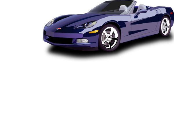 Vector mustang free car. Convertible sport clip art