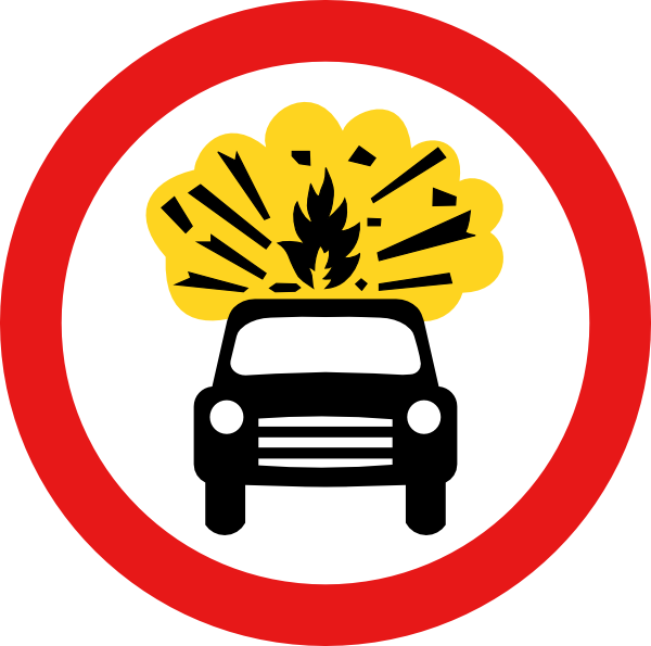 Cars explosion