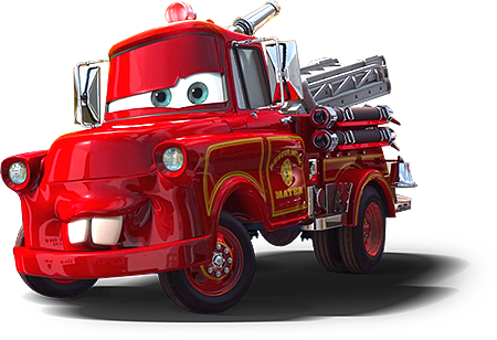 Cars mater png. Image rescue squad martin