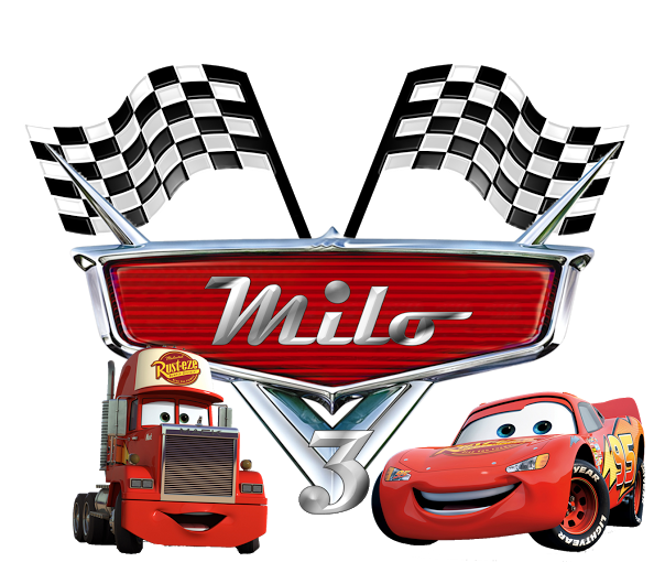 Cars png logo. Rayo mcqueen y