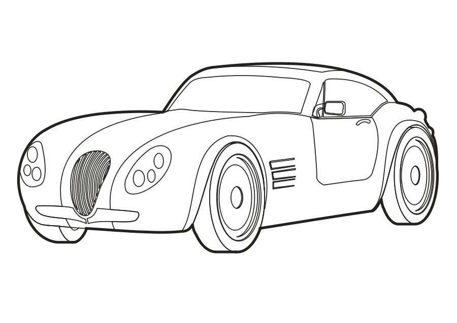Cars transparent black and white. Car graphic royalty free