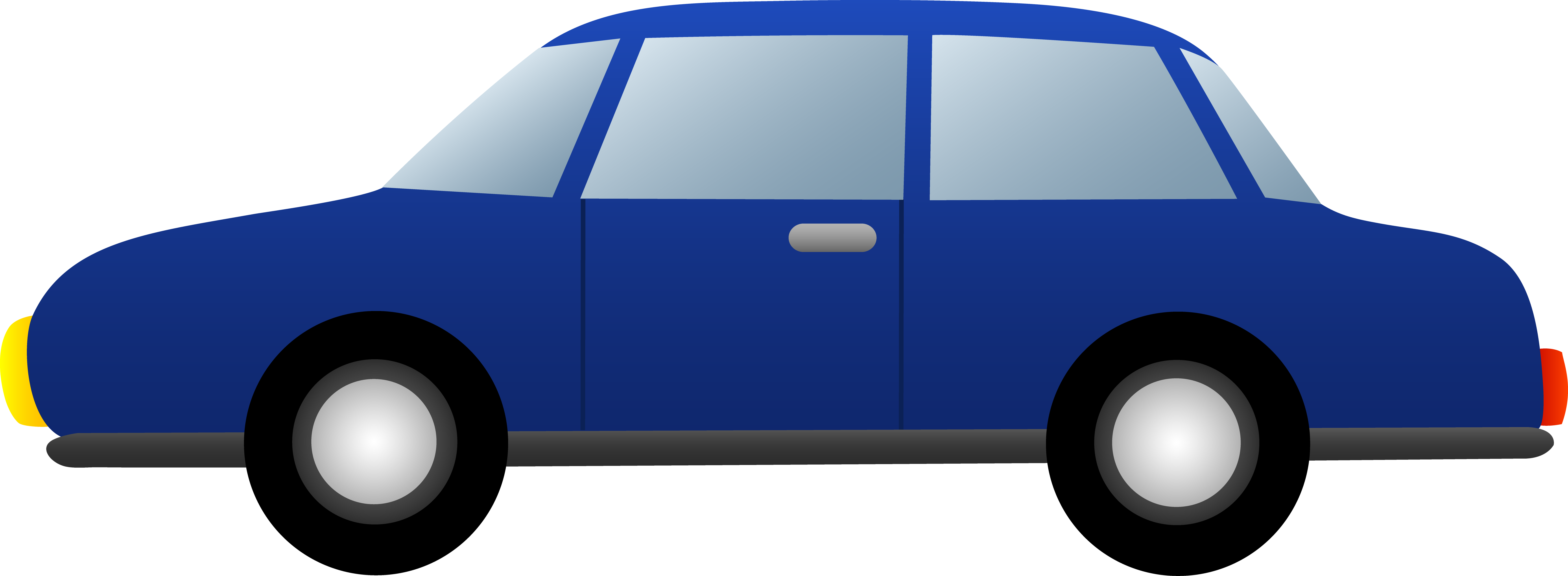 Cars transparent blue. Collection of free acrasy