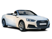 Cars transparent convertible. Audi a cabriolet on