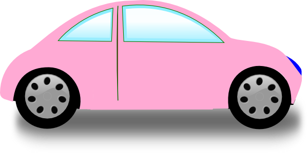 Cars transparent pink. Collection of free acrasy