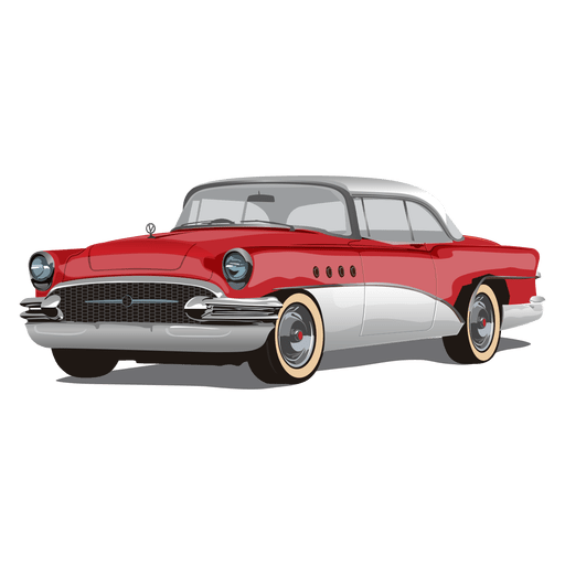 Cars transparent retro. Glossy vintage chevrolet car