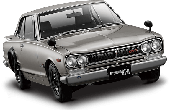Cars transparent skyline. Minicars the ultimate hakosuka