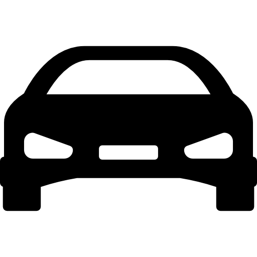 Cars vector png. Car flat black icon