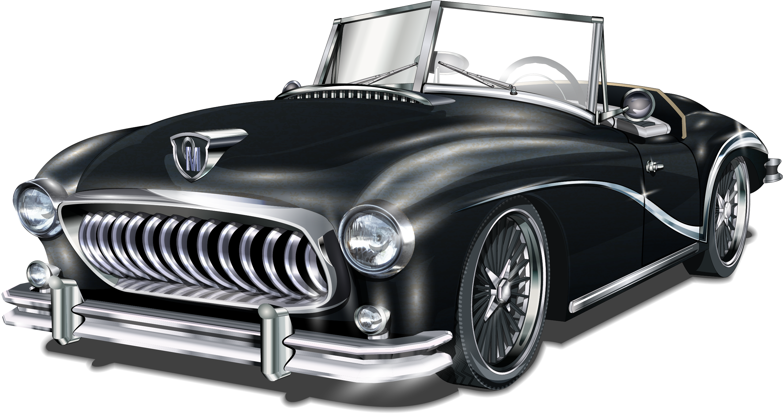 Cars vector png. Classic car vintage transprent