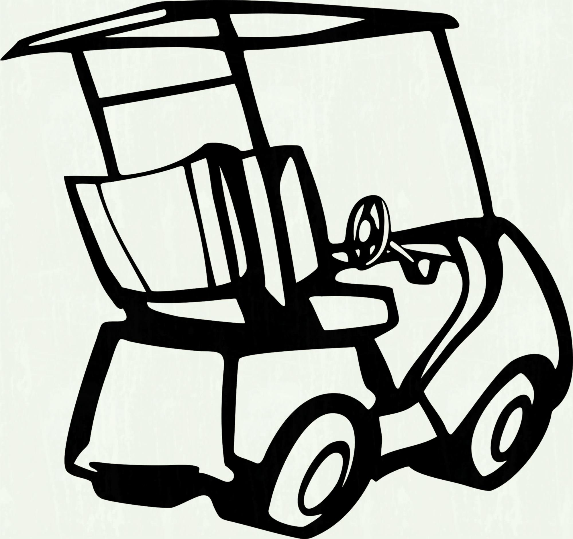 Cart clipart black and white. Pencil in color library