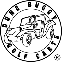 Cart drawing buggy. Dune golf carts