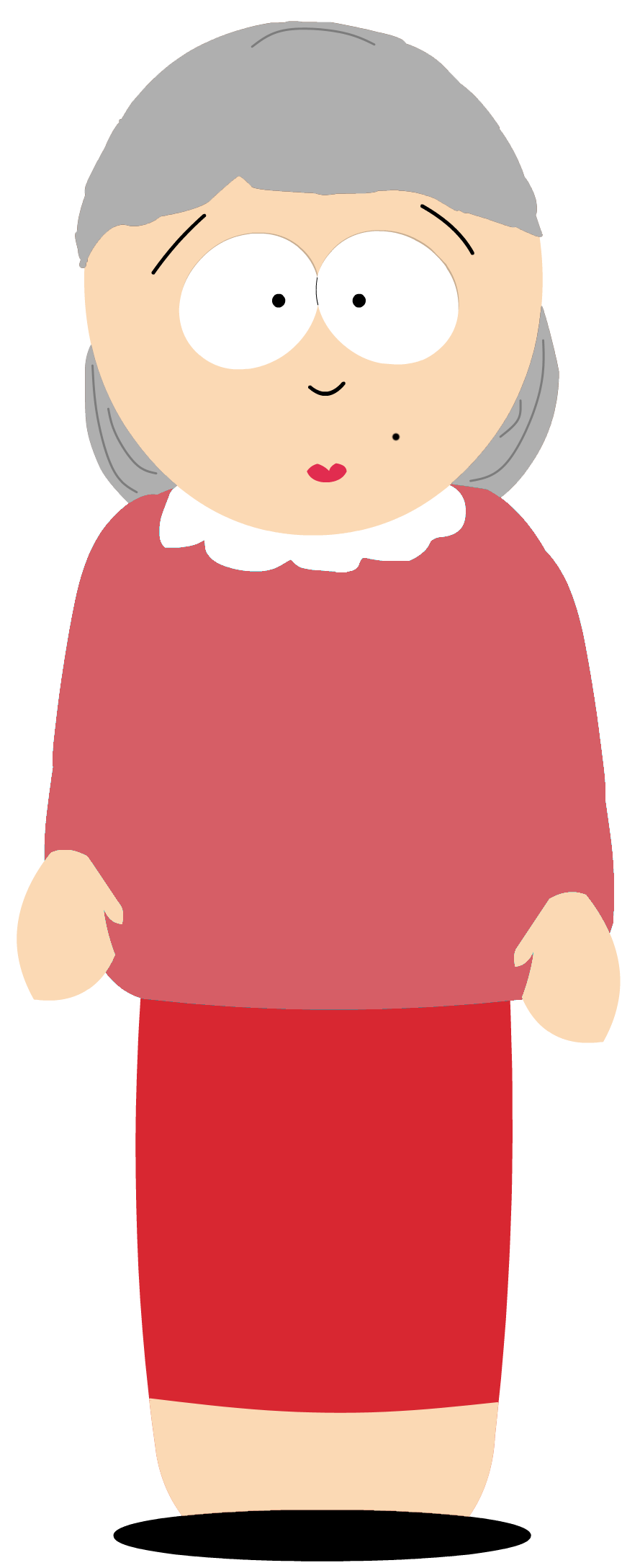 Cartman transparent older. Future liane by celcolevi
