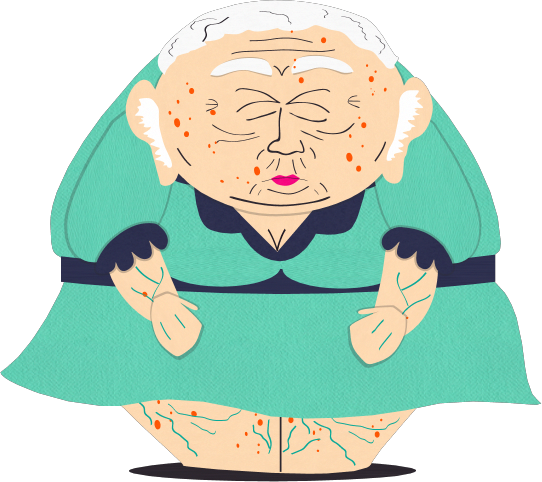 Cartman transparent older. Florence south park archives
