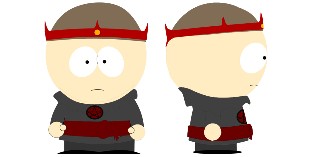 Cartman transparent older. Travis sot ant outfit