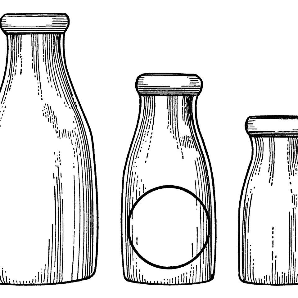 carton clipart bottled milk