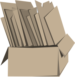 packaging vector cardboard