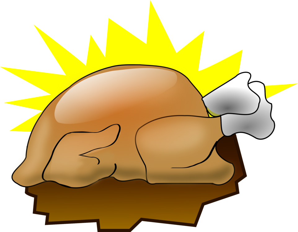 Drawing turkey holiday. Thanksgiving day meat cartoon
