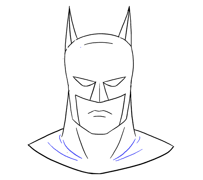 Carton drawing batman. How to draw s