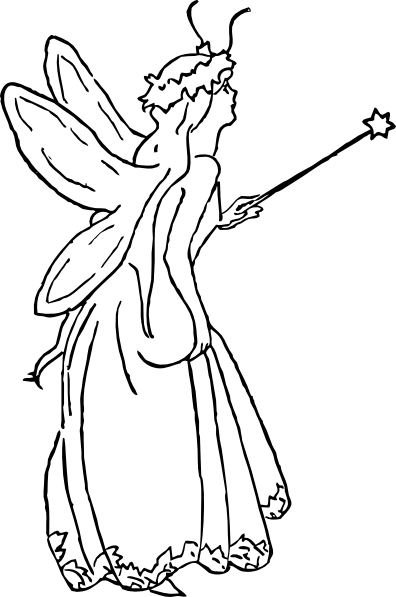 Carton drawing beautiful. Fairy cartoon at getdrawings