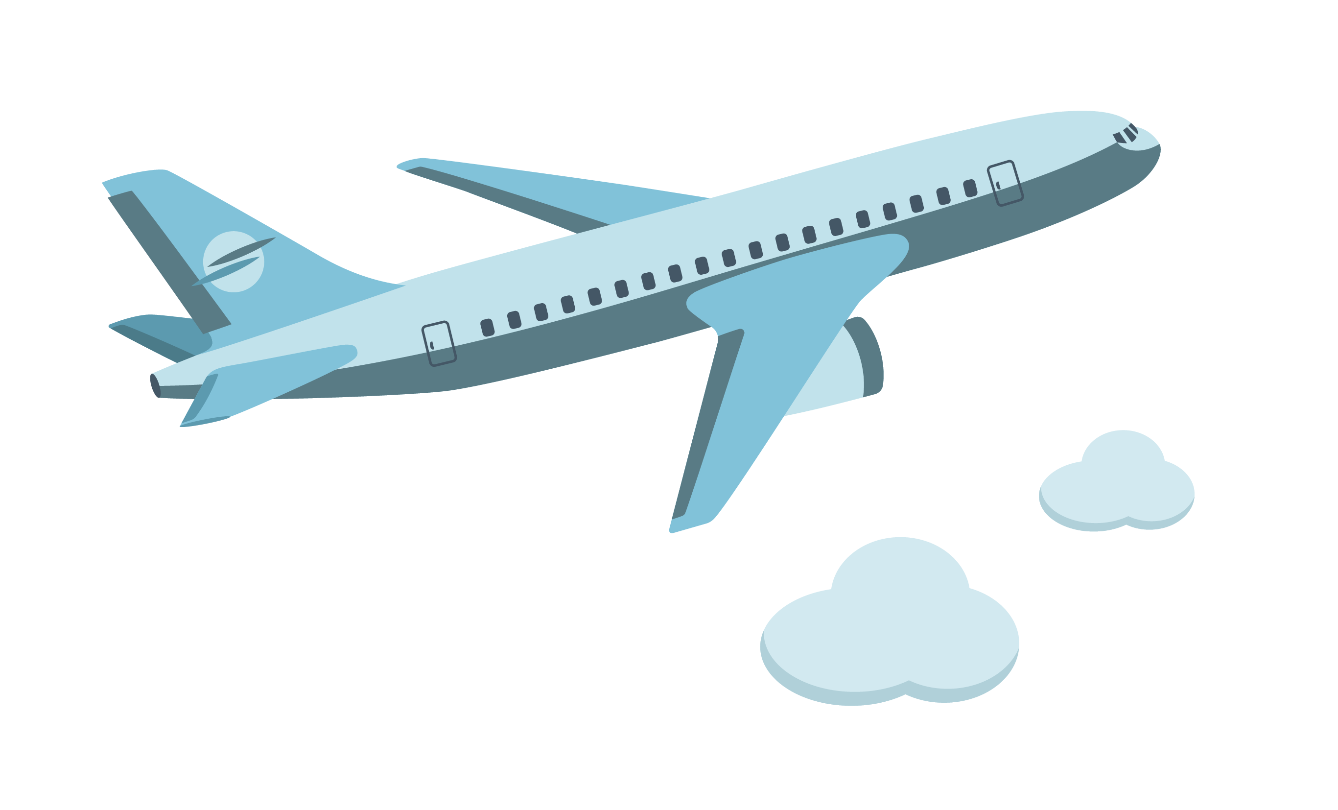 Cartoon airplane png. Aircraft icon vector flying