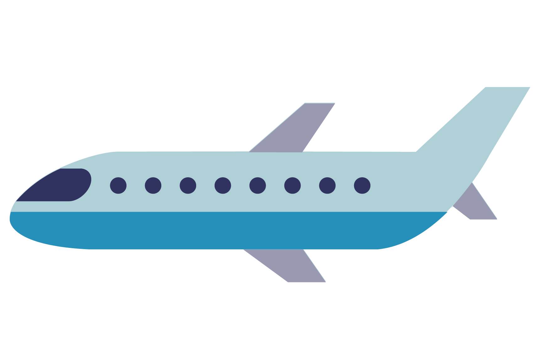 Cartoon plane png. Airplane aircraft animation transprent