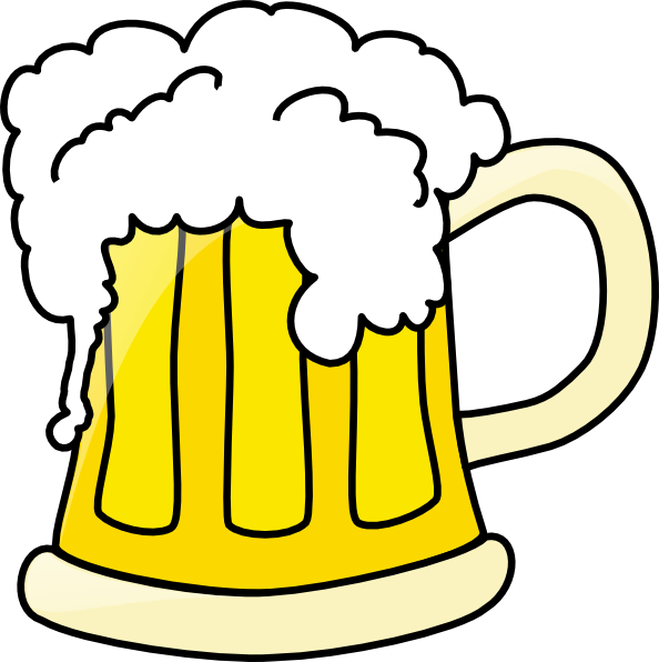 Cartoon alcohol png. Beer mug clip art