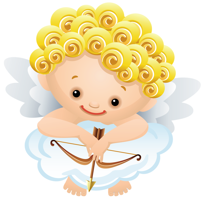 Cartoon with bow gallery. Angel png clipart clip art library stock