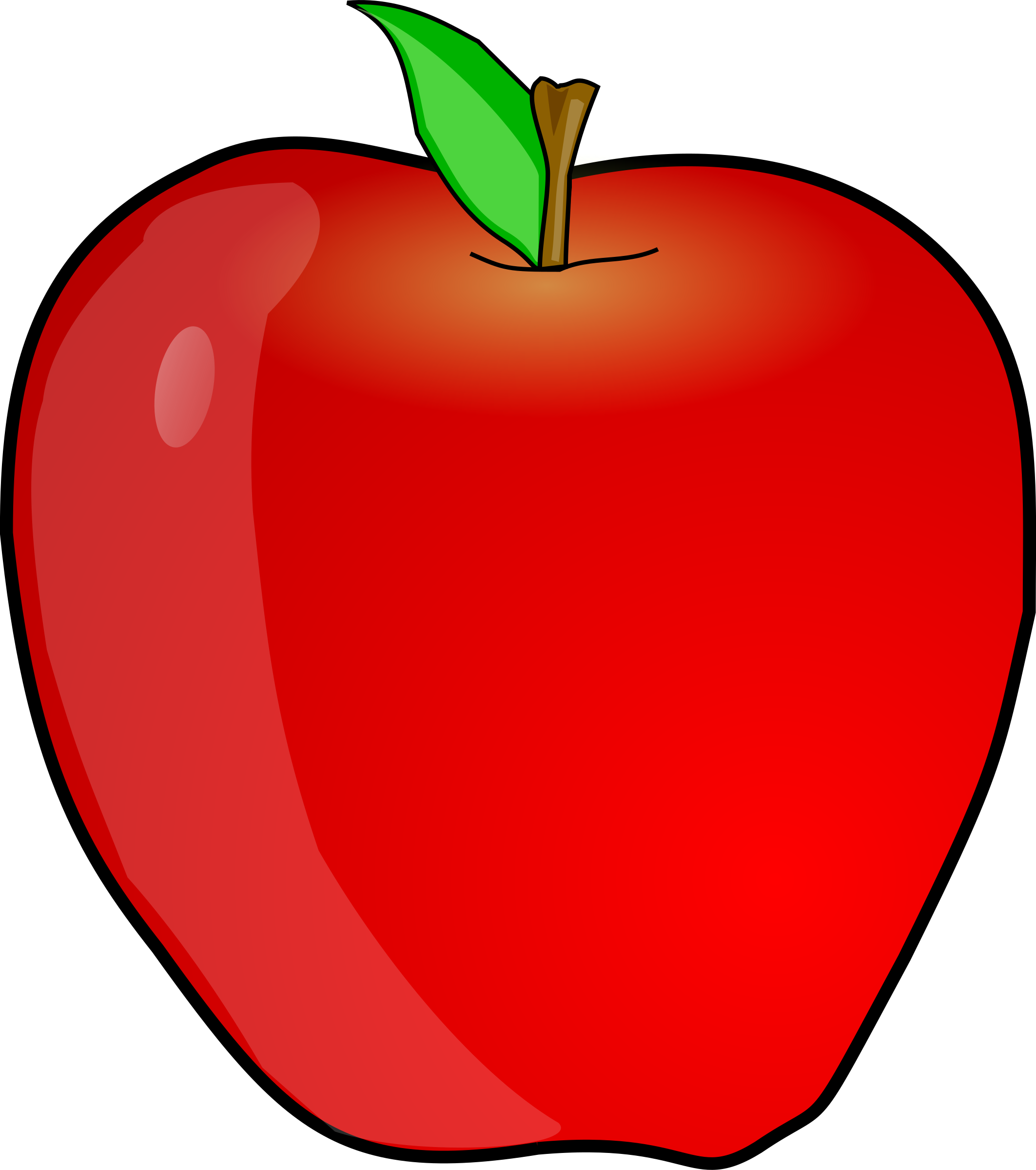 Cartoon apple png. Clipart another big image