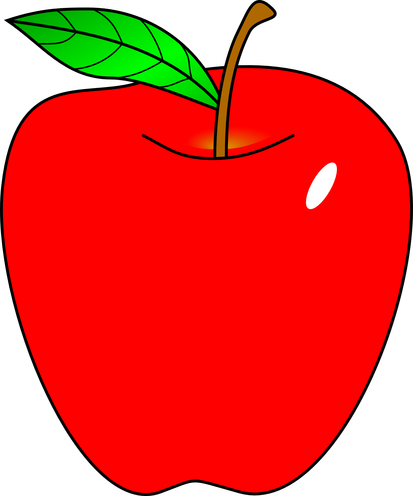 Cartoon apple png. Free content teacher clip