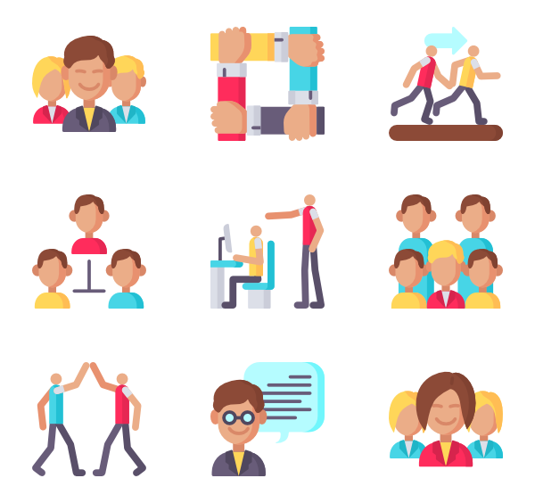 Arm icons free teamwork. Performance vector svg royalty free download