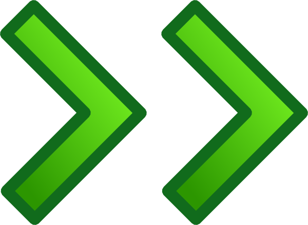 Arrow gif png. Green right double arrows