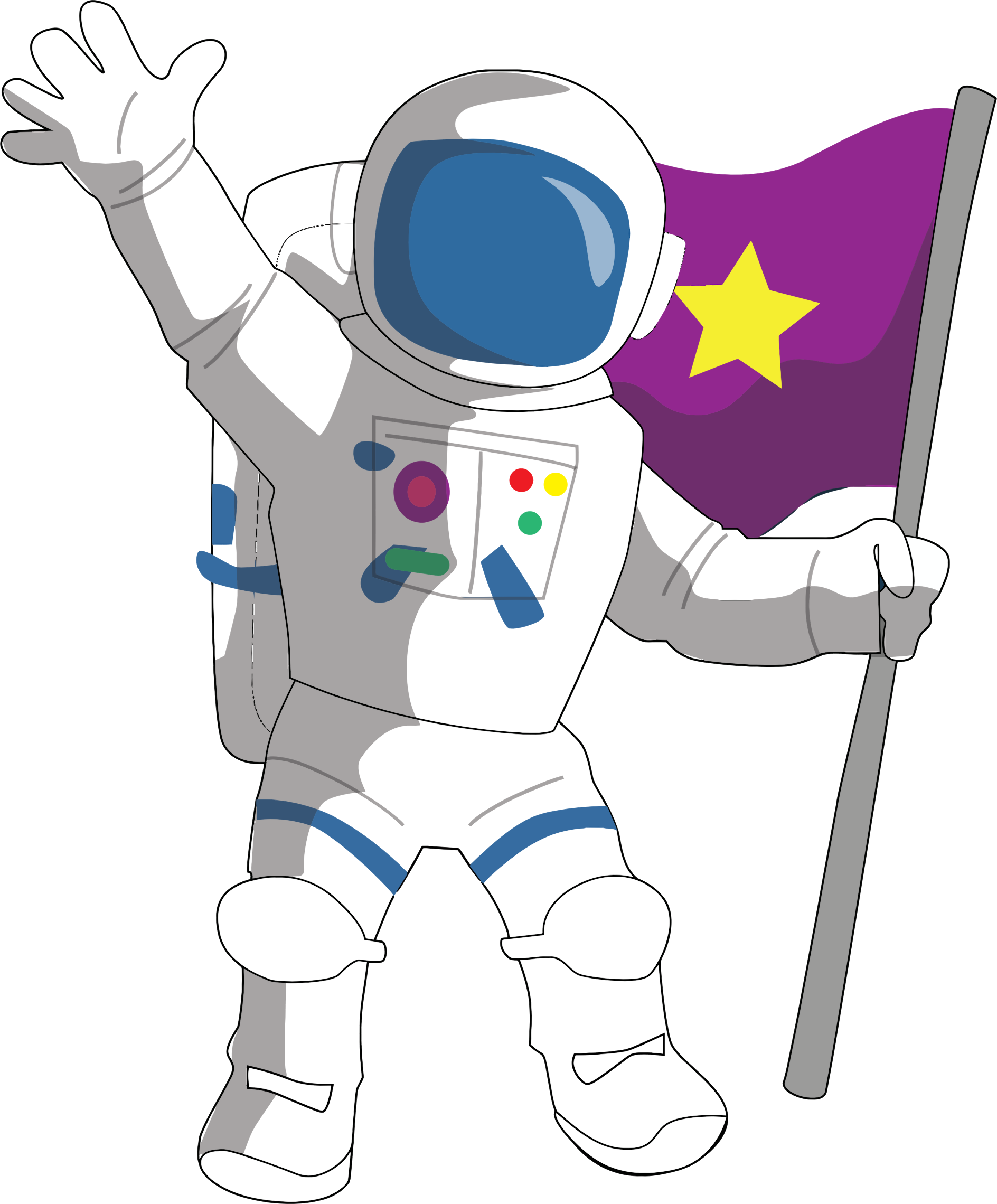Cartoon astronaut png. Icons free and downloads