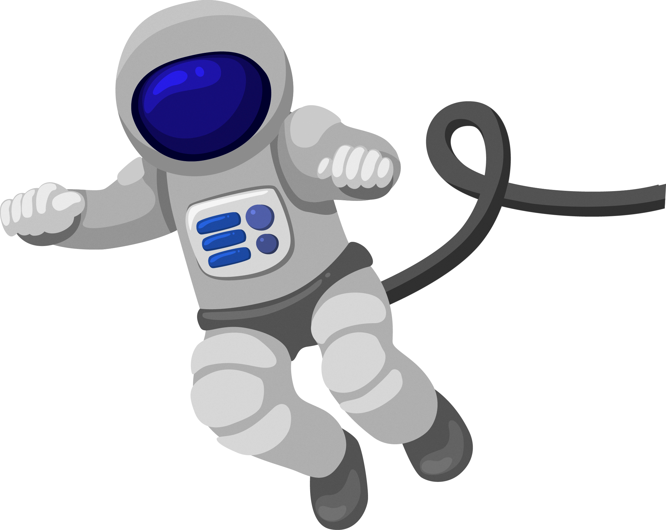 Cartoon astronaut png. Outer space clip art