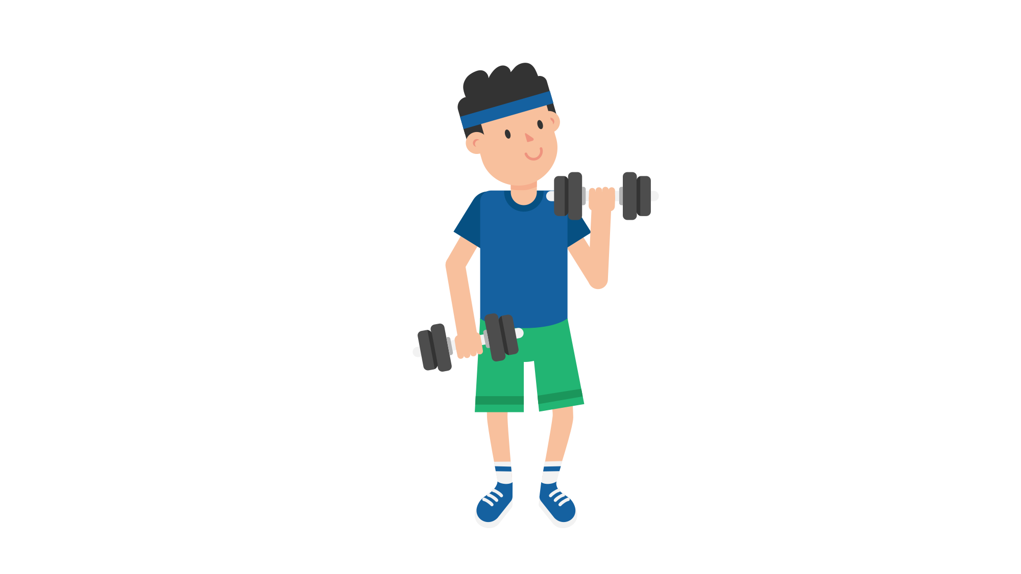 Cartoon barbell png. File man lifting dumbbells