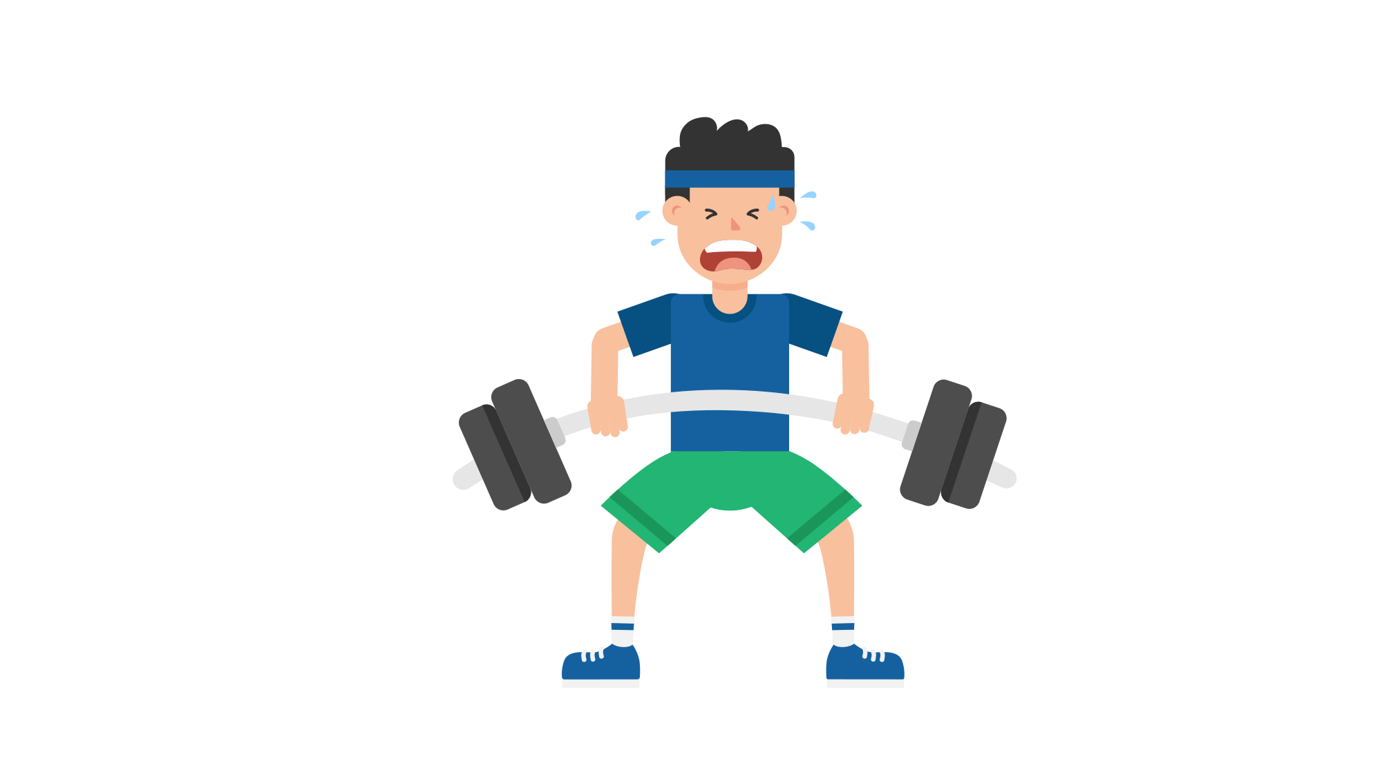 Cartoon barbell png. File man lifting svg