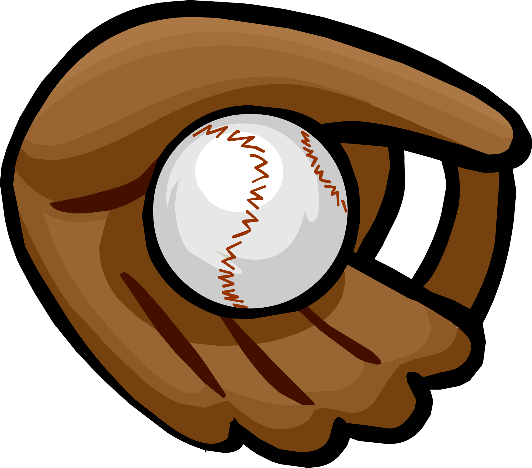 Cartoon baseball png. Image glove clothing icon