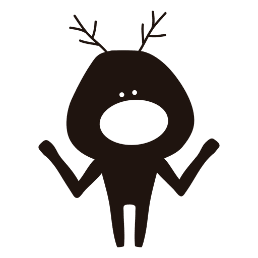 Cartoon bell silhouette png